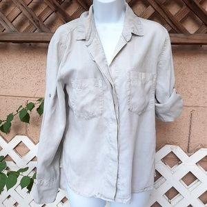 Cloth & Stone long button up shirt